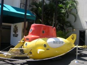 マウイダイバーズの潜水艦